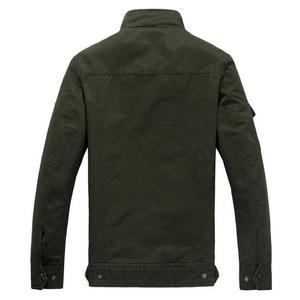 Image 5 - 2020 kurtka wojskowa mężczyźni dżinsy Casual Cotton Coat Plus rozmiar 6XL armia Bomber taktyczna kurtka lotnicza jesienne zimowe kurtki Cargo