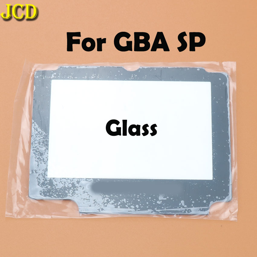 Image 4 - JCD 1pcs Plastic Glass Lens For GBA SP Screen Lens cover For Nintend Gameboy Advance SP Lens Protector W/ Adhensive-in Replacement Parts & Accessories from Consumer Electronics