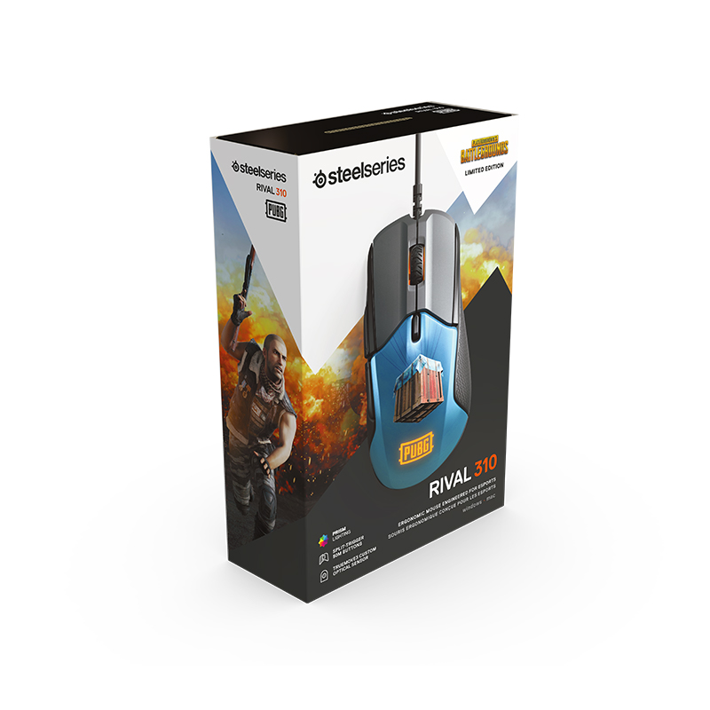 Steelseries Rival310 Game Mice Original roared HOWL CSGO Gaming Computer Mouse 15