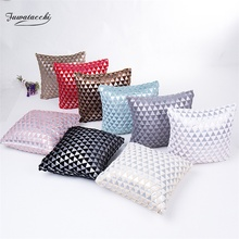 Fuwatacchi Geometric Style Cushion Cover Printed Pillow Cover Pillow Case Plush Throw Pillow Decorative Pillows for Sofa Car цены