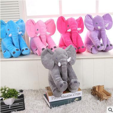 2016 Venda Qualificado Sólida Quente Elefante Bebê Amamentação Travesseiro Travesseiros Cintura Crianças Bonecos de Pelúcia Para Bebês (o Tamanho Pequeno)
