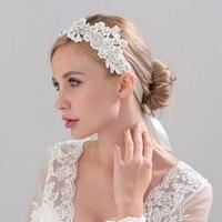 NZUK Headwear Vintage Crystals Hair 2018 Bridal Hats Pearls Flowers Beaded Handmade for Brides Wedding Accessories H157