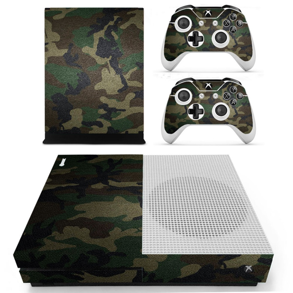 S0047 Decal Vinyl Skin Sticker Protector for Microsoft Xbox One Slim Console and 2 Controllers skins Stickers for XBOXONE Slim