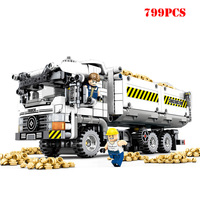City Engineering Construction Truck Vehicles Building Blocks Compatible Legoing Technic Bricks Toys For Children Christmas Gifts