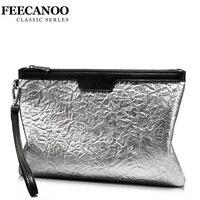 2018Fashion solid men's clutch bag leather men bag woman envelope bag clutch evening bag female Clutches Handbag free shipping