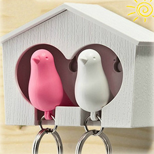 SUPIN Cute Double Bird Nest House