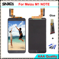Sinbeda AAA Quality 5 5 LCD Display Screen For Meizu M1 Note LCD Display With Touch