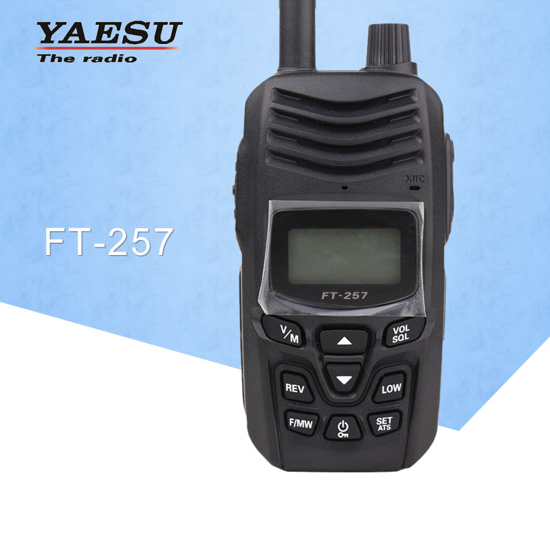 General Walkie Talkie for FT-257 Dual-Band 400-480MHz FM Ham Two way Radio Transceiver YAESU FT-257 Radio