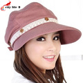 Women Sun Hat Children Cap Uv Protection Caps For Summer Feminino Button Decoration Female Summer Hat Lace