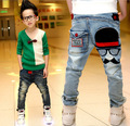 Boys pants jeans 2017 Fashion Boys Jeans for Spring Fall Children's Denim Trousers Kids light blue Designed Pants