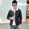 T china barato por atacado tamanho M-5XL 2016 Outono inverno novo macho projeto de algodão-acolchoado homens jaqueta tamanho grande fino moda casaco