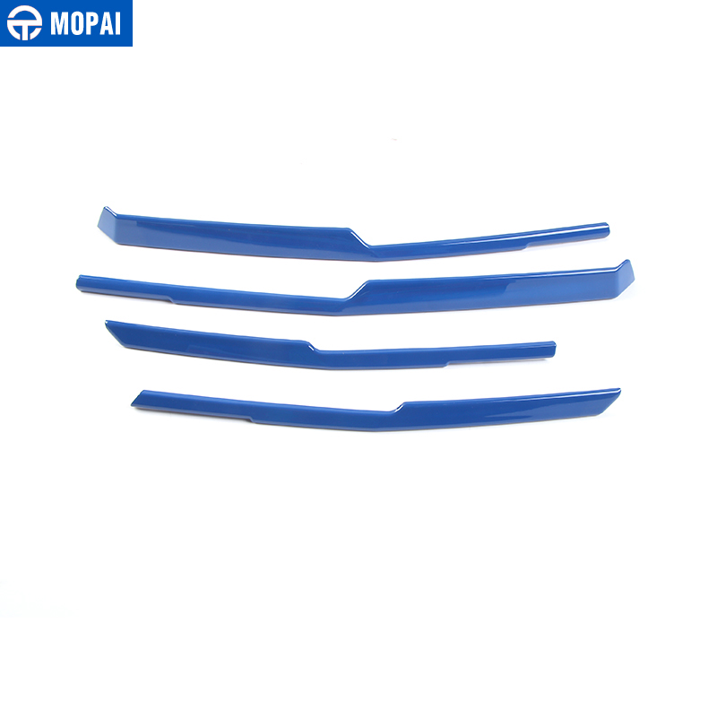 Image 5 - MOPAI Car Exterior Front Grille Cover Decoration Trim ABS Stickers for Chevrolet Camaro 2017 Up Car Accessories Styling-in Chromium Styling from Automobiles & Motorcycles