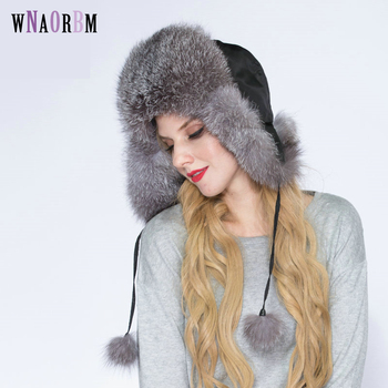New genuine winter fox fur hat ladies 100% real fox fox fur hat quality warm Russian real Fox fur hat фото