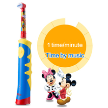 Oral B D10 Children Electric Toothbrush EB10 Replaceable brush heads Rechargeable Tooth brush Music Timer for