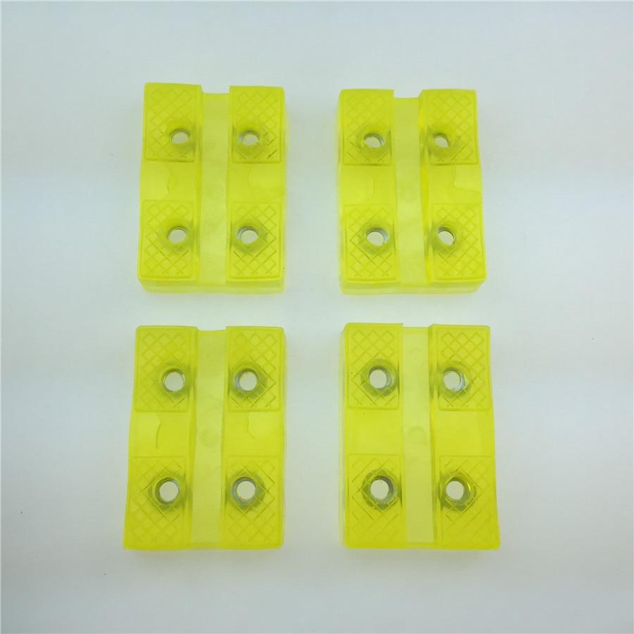 Цена за STARPAD Желтый автомобиль поднимите резиновый коврик сухожилия Османы Османов разнообразие стилей автозапчастей бесплатная доставка
