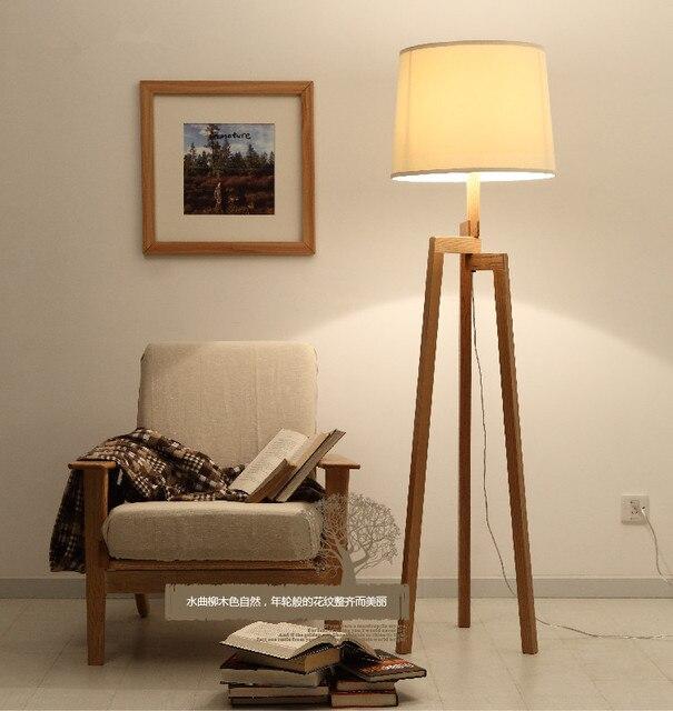 Nordic Ikea Holz Stehleuchte Moderne Wohnzimmer Schlafzimmer