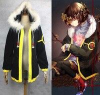 Anime Undertale Frisk Coat Cosplay Costume Custom Made
