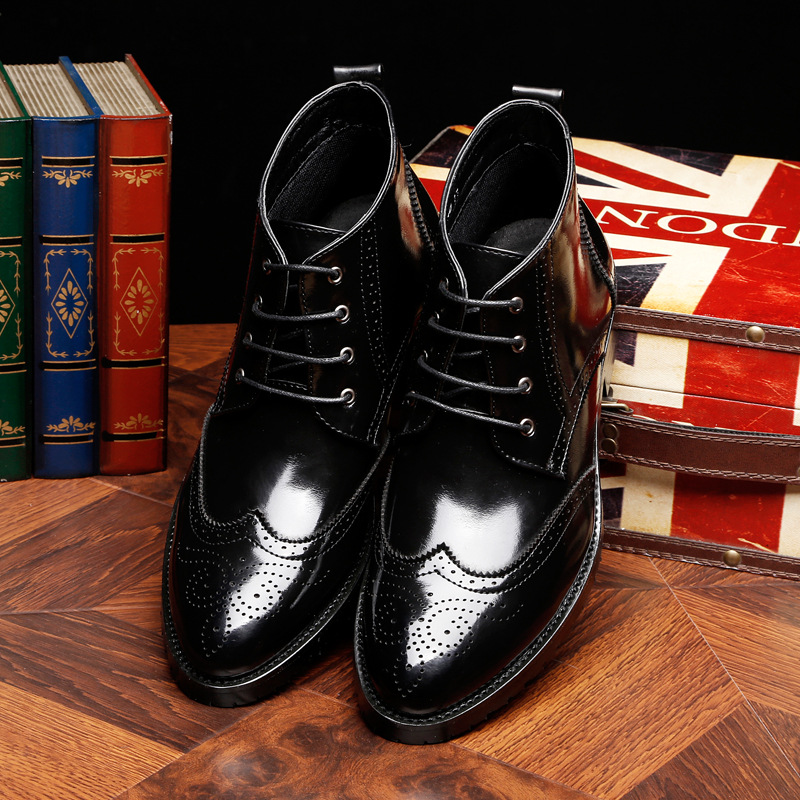 Shoes Men's Shoes 2018 New Fashion Style Designer Formal Mens Dress Shoes Genuine Leather Luxury Wedding Shoes Men Flats Office Shoes Lc1569-1 Skilful Manufacture