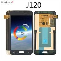 4.5inch ORiginal AMOLED LCD For Samsung Galaxy J120 J1 2016 lcd J120F J120H J120M Display touch screen assembly