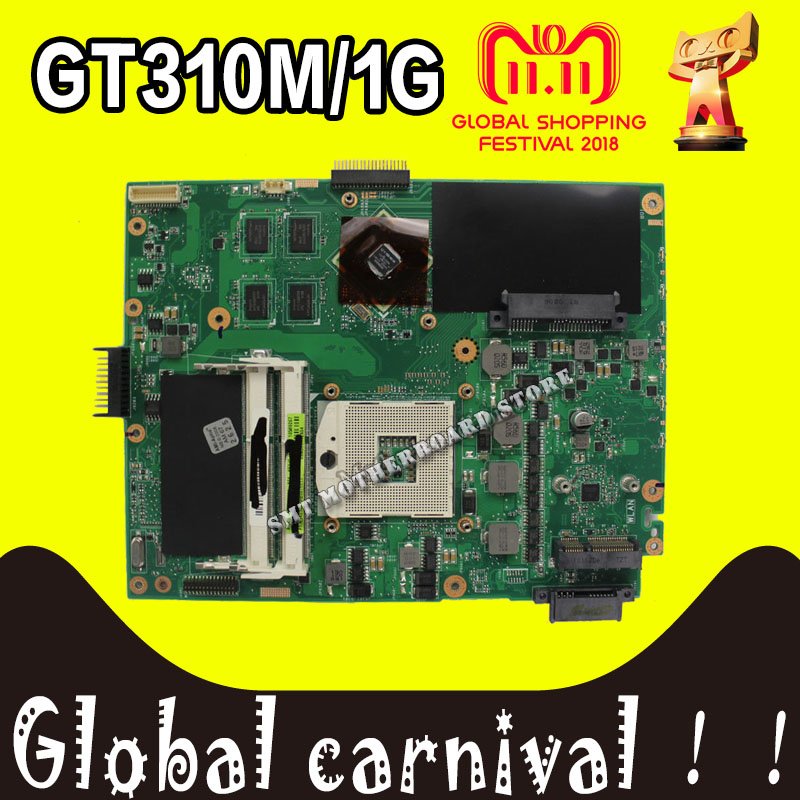 K52JC Motherboard 310M 1GB For ASUS K52JR K52JT K52J A52J X52JC laptop Motherboard K52JC Mainboard K52JC Motherboard test 100%OK k52ju laptop motherboard mainboard for asus k52jt k52j k52jc a52j x52jc x52j k52je with hd6370 512m ddr3