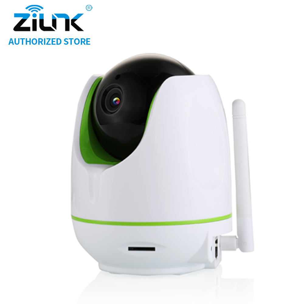 ZILNK HD 720P Wireless Security IP Camera Indoor Baby Monitor WiFi CCTV Camera support IR Cut Night Vision TF Card ONVIF White escam ip camera onvif wifi hd p2p wireless cctv security home camera 360 degree ir cut night vision support 64g micro sd card