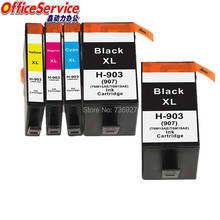 5X compatible Ink Cartridge For HP 903 HP903 HP907 for Officejet Pro 6964 6965 6966 6968 6970 6971 6974 printer in Europe