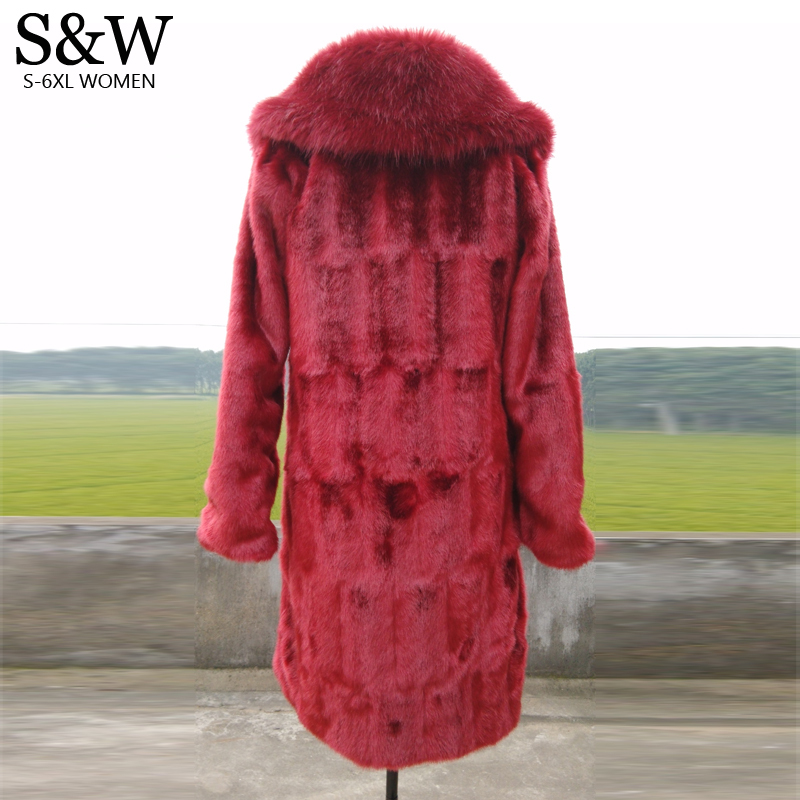 Popular Red Mink Coat-Buy Cheap Red Mink Coat lots from China Red