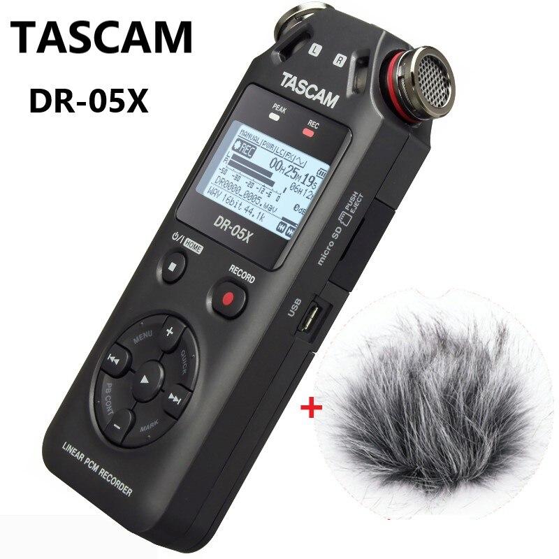 TASCAM DR05X DR 05X ポータブルデジタルボイスレコーダーインタビューレコーダー MP3 Hd ノイズリダクション記録ペン USB オーディオインターフェース  グループ上の 家電製品 からの デジタル音声レコーダー の中 1