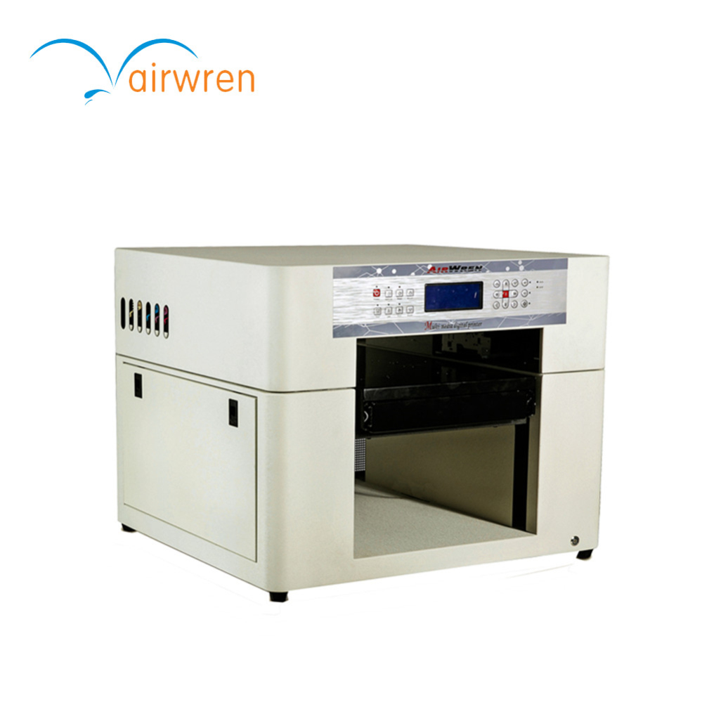 Large A3 format UV printer with special 28x60cm tray for ceramic tile,wood,leather,etc