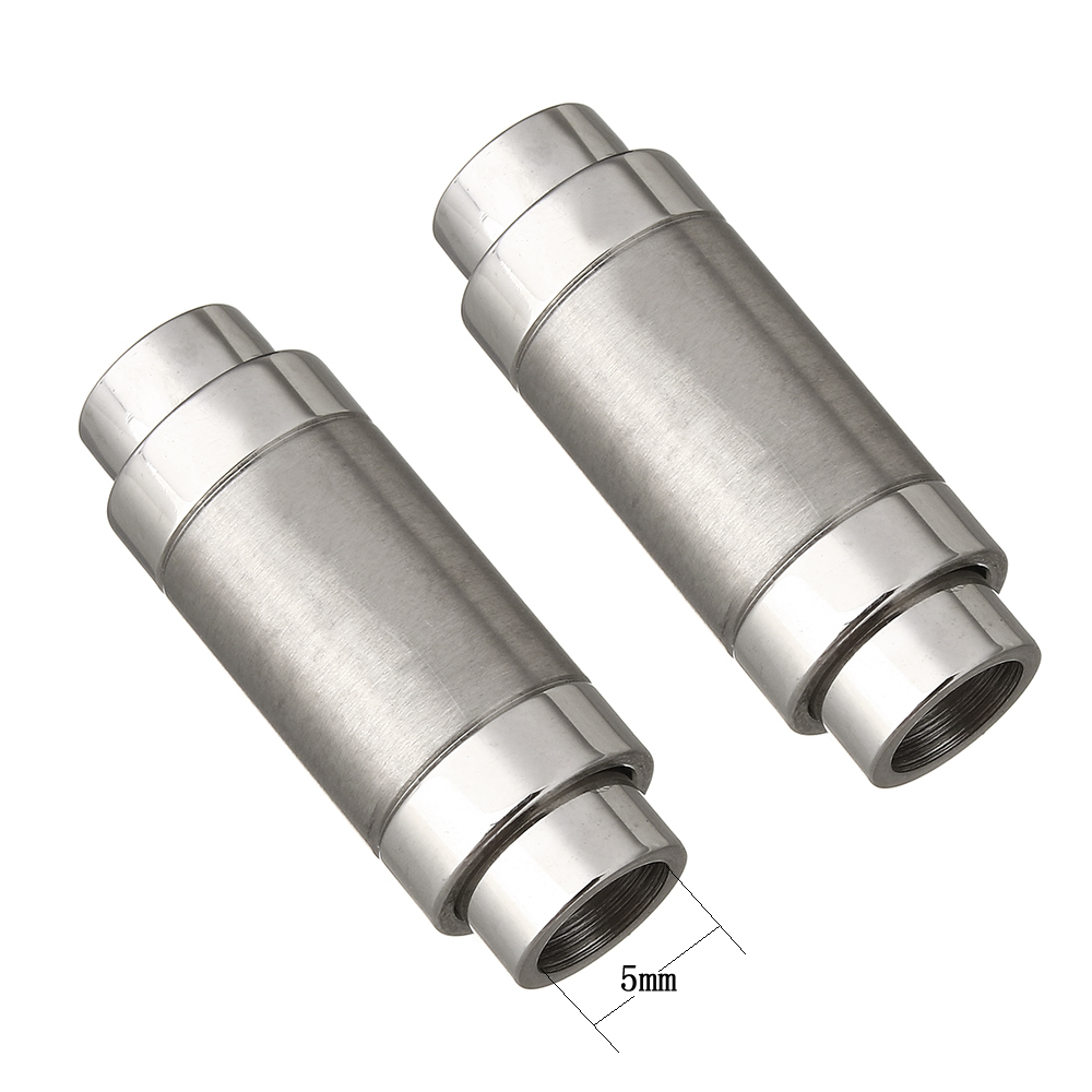 STAINLESS STEEL COLUMN SCREW CLASP,JEWELLERY MAKING SILVER MAGNETIC CLASPS