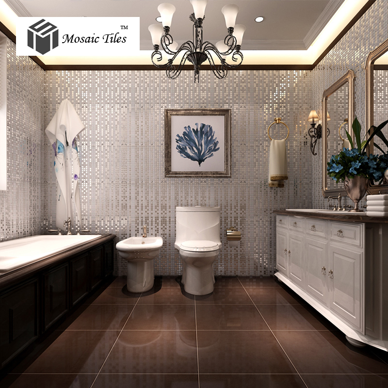 Glass Mosaic Collages Silver Straight Lines Bisazza Mosaics Glass ...