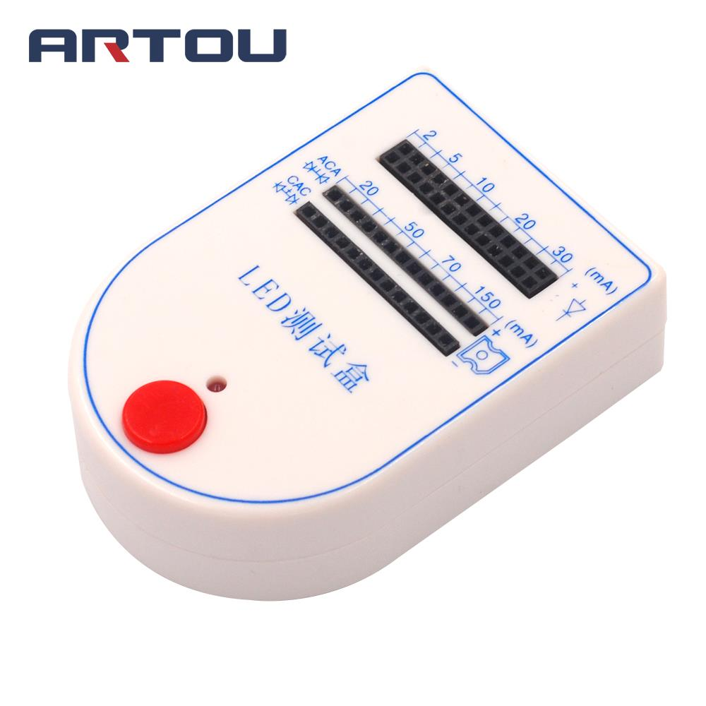 Mini Handy LED Tester Test Box 2~150mA For Light-emitting Diode Bulb Lamp