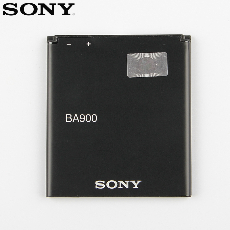 Original Replacement Sony Battery BA900 For SONY Xperia E1 S36H ST26I AB 0500 GX TX LT29i SO 04D C1904 C2105 Genuine 1700mAh in Mobile Phone Batteries from Cellphones Telecommunications