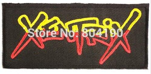 XENTRIX Logo Music Band Thrash Metal Rock Punk retro sew applique iron on patch Biker Vest