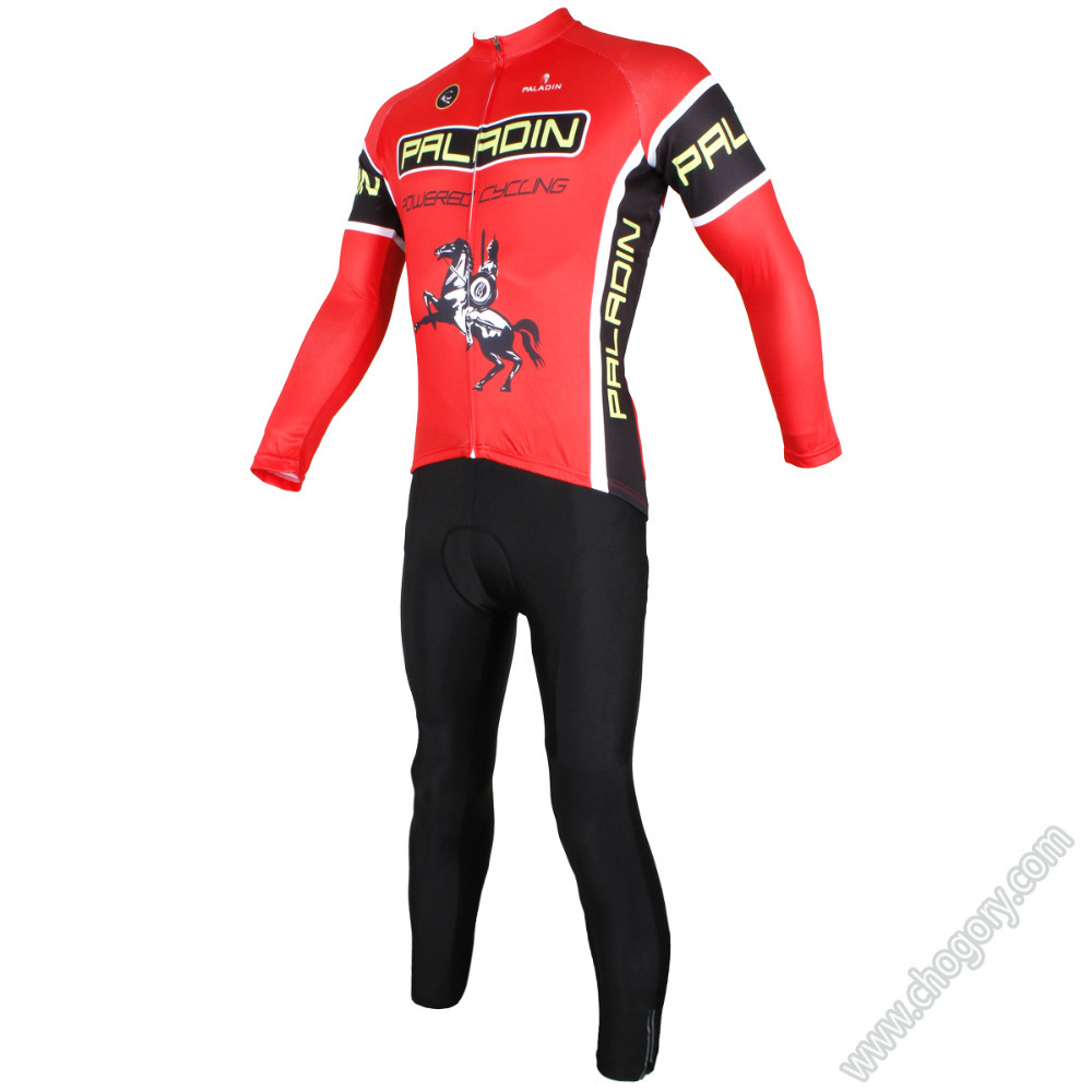 Cool waterproof bike riding shirts for teams long sleeved anti pilling Sets dirt bike for winter