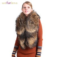 2019 new women's clothing collar accessories fashion fur fox scarves 100% Real fox fur collar square