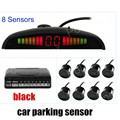 Car Parking Sensor with LED Display Car Reverse Backup Radar Kit with 8 sensors free shipping 9 colors to choose hot sale
