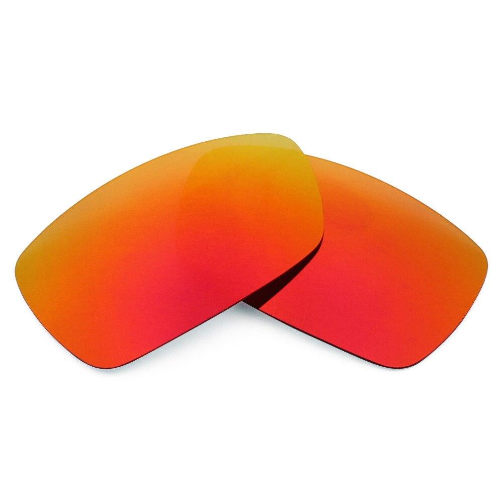 Mryok polarizado Objetivos para Oakley Spike Gafas de sol Fire red ...