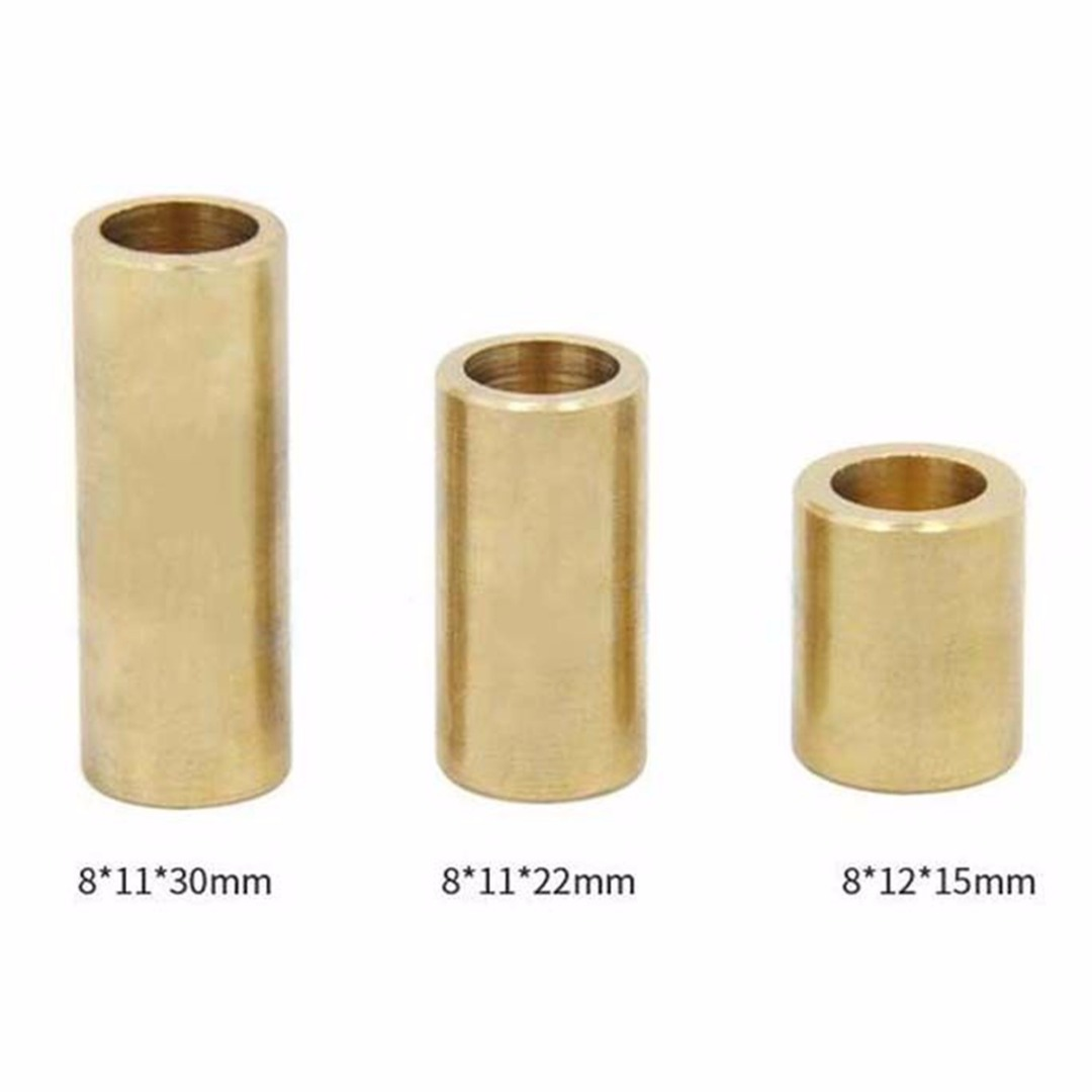 Mayitr Brass Copper Sleeve Bearing Self Lubrication Sleeve Bushing For 3D Printer Slider 8*12*15mm / 8*11*30mm / 8*11*22mm
