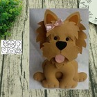 Animal dog 3 metal c...
