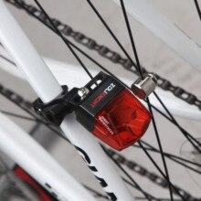 Водонепроницаемый велосипедный фонарь без аккумулятора Магнитный самоходный велосипедный задний фонарь без зарядки легко установить ночной велосипедный светодиодный фонарь