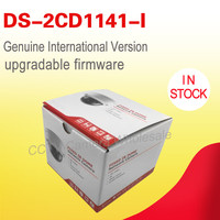 In stock DS 2CD1141 I English version 4MP mini dome POE cctv camera replace DS 2CD2145F IS, IP camera H.264+ Hik connect