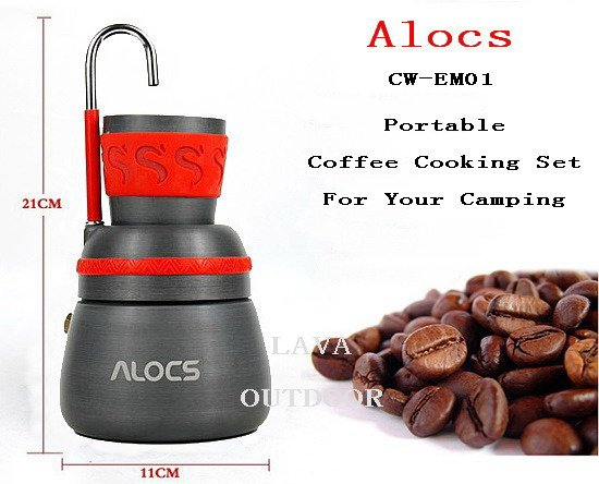 Genoeg Camping Coffee Cooking Set Outdoor Coffee Cooker,Outdoor Coffee  @OW05