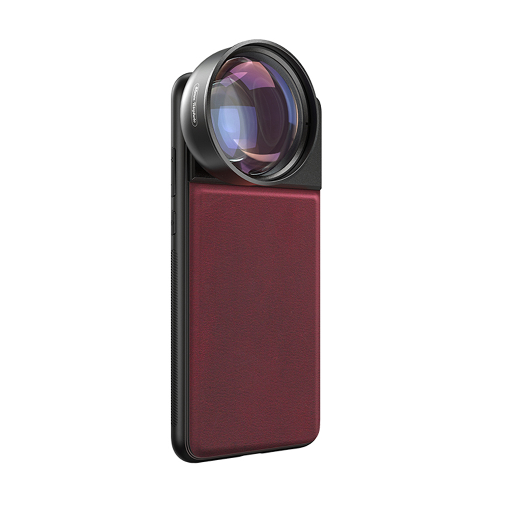 Moveski PR-85 Cell Phone Telephoto Camera Lens HD 3X 85mm Optical Portrait Phone Lens for all iPhone Series Android Smartphone image