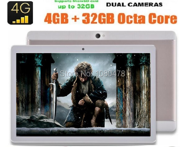 2017 Newest 4G tablet pc 10 inch Octa Core 4G FDD LTE 4GB RAM 32GB ROM