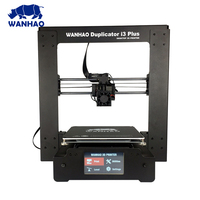 new upgrade wanhao I3 plus mark II 3D printer big size and auto bed leveling Pursa I3 3D printing machine with SD card for free|3D Printers|Computer & Office -
