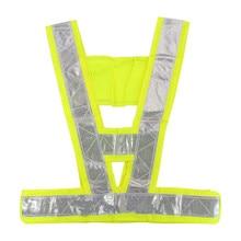 Новинка прочный Лидер продаж высокое Предметы безопасности Безопасность видимость светоотражающий жилет в полоску Шестерни зеленый