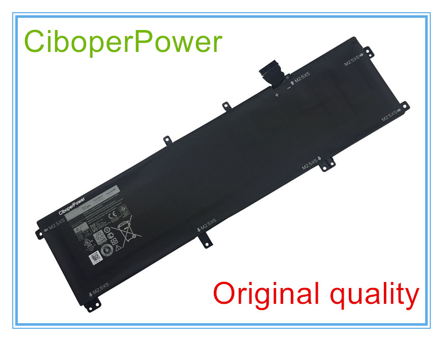 Original 11.1V 91Wh 245RR Battery For XPS 15 9530 M3800 T0TRM H76MV 7D1WJ Free shipping цена