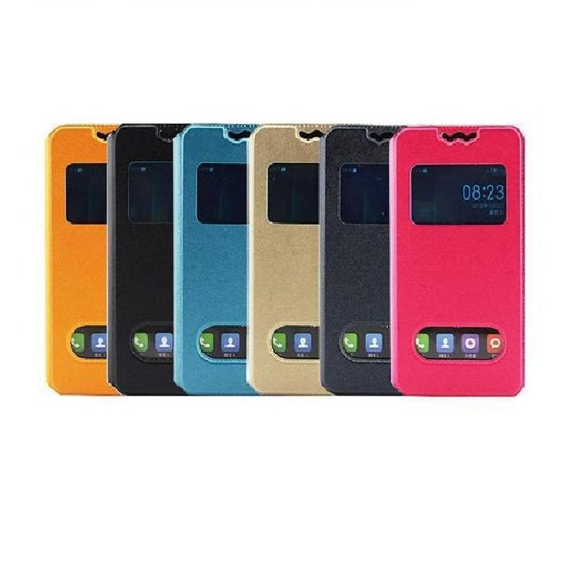 For Fly iq4407 era nano 7 Universal 4 Case PU Leather Case Flip Folio Book Phone Rotation Cover For Fly IQ 4407