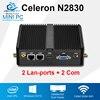 Mini PC Intal Celeron N2830 Dual Core 2 Lan 2 Com Windows 10 8 7 Linux